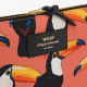 Large Pouch - Toco Toucan