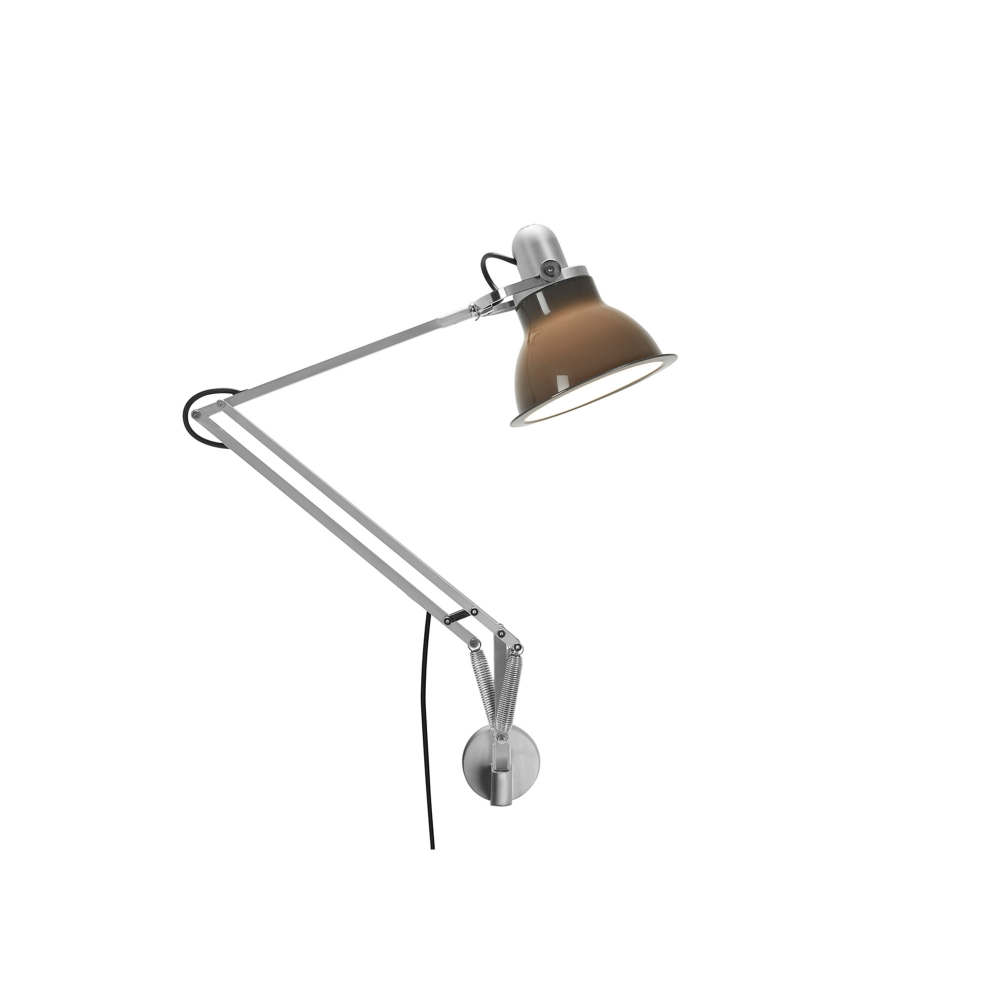 Type 1228 - Väggmonterad lampa, Granite Grey