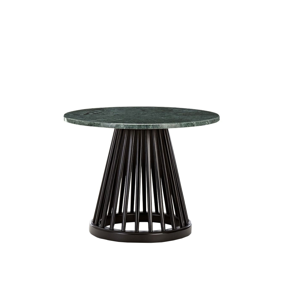 Fan Small Black Side Table i gruppen Möbler / Bord / Småbord & sidobord hos Nordiska Galleriet 1912 (10230719r)