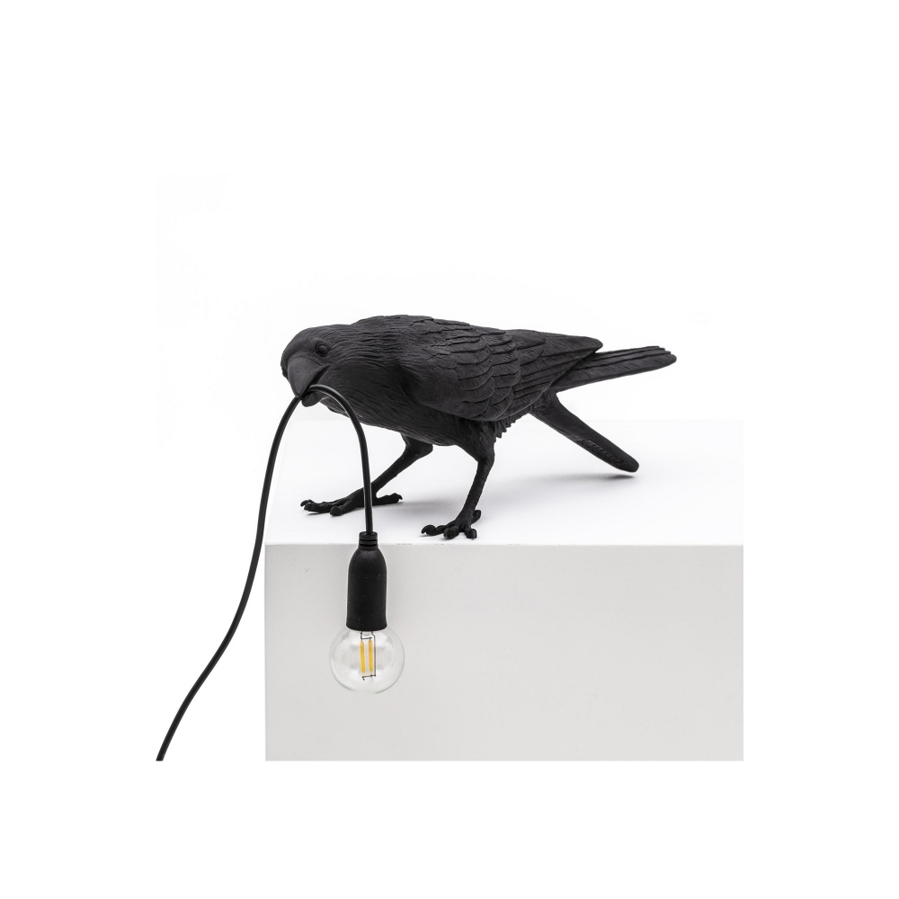 Bird Lamp Playing - Svart i gruppen Belysning / Bordslampor hos Nordiska Galleriet 1912 (10256648)