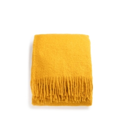 Mohair Throw - Senap