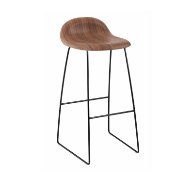 K 246 P 3d Bar Stool Wood Base Ej Kl 228 Dd Fr 229 N Gubi Nordiska
