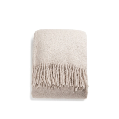 Mohair Throw - Portabello
