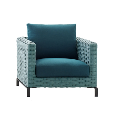 Ray Outdoor Fabric Armchair