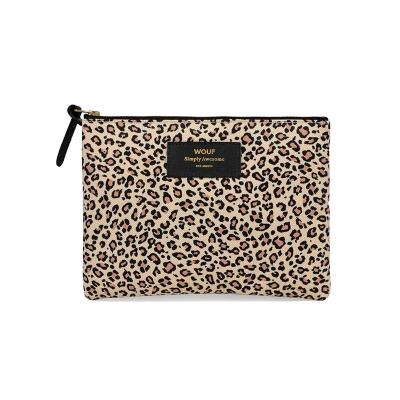 Large Pouch - Pink Savannah