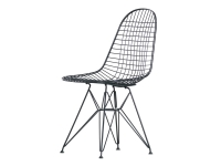 Wire chair DKR, Basic Dark