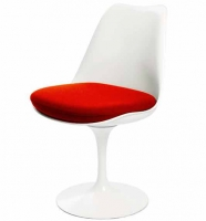 Tulip swivel chair, vitt skal