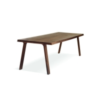 Doble table walnut