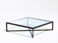 Marc Krusin Coffee Table, glasskiva