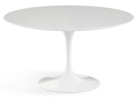 Saarinen Round table 120 cm, vit laminat