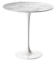 Saarinen Round table 51 cm, arabescato