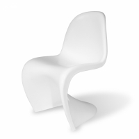 Panton chair, vit