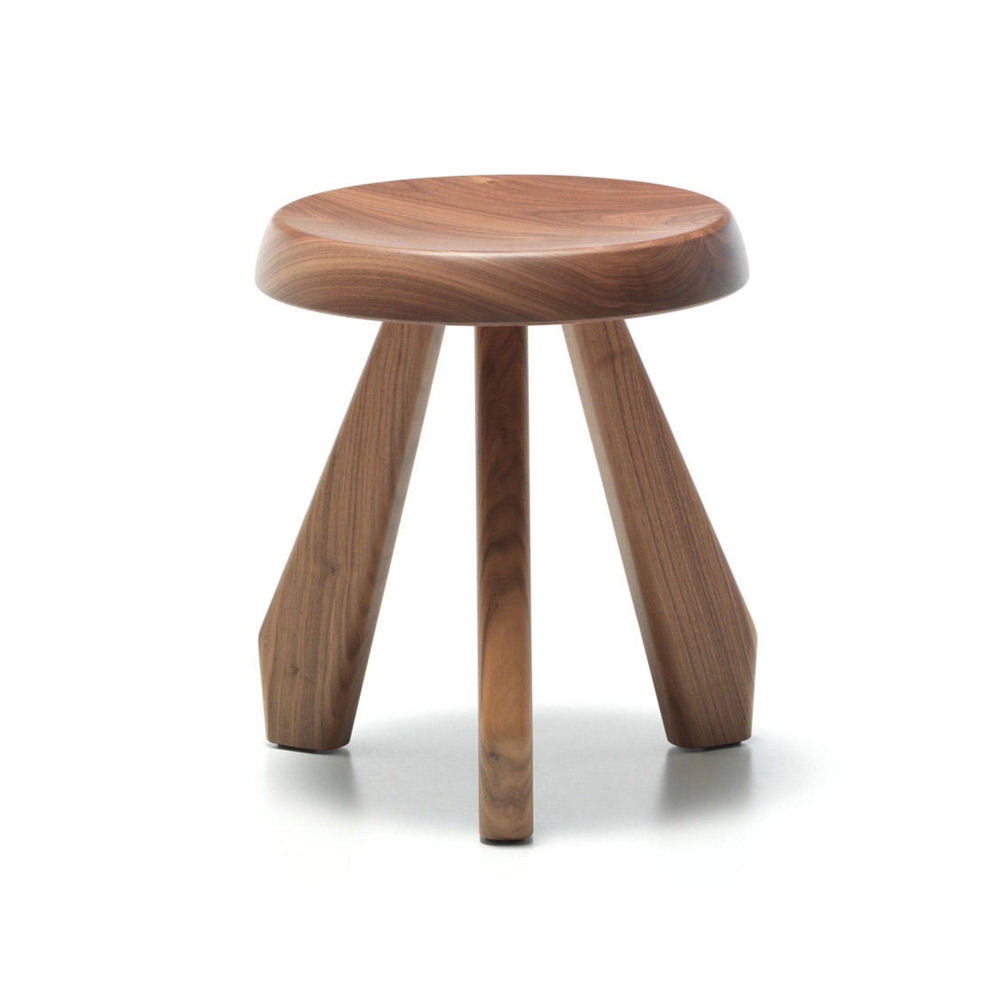 523 Tabouret Méribel - American Walnut
