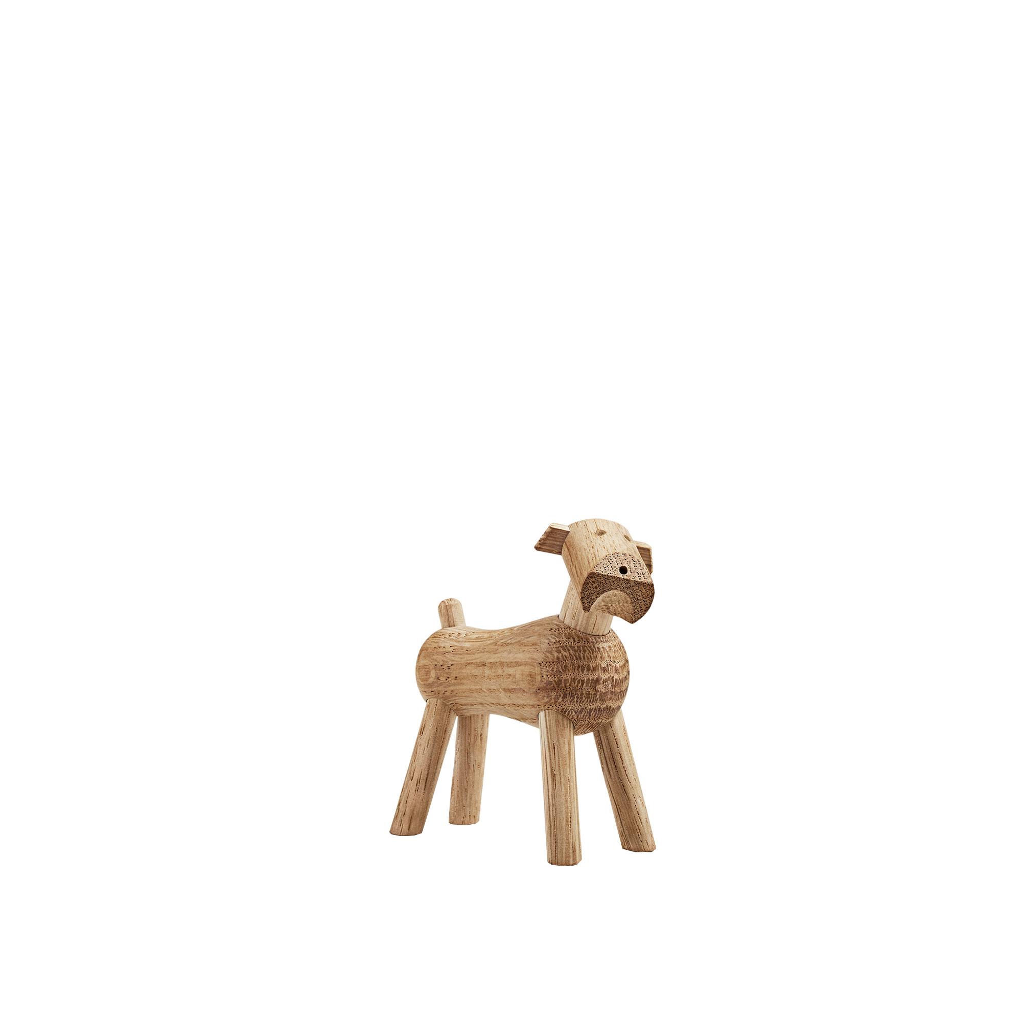 Utestående Köp Hund Tim, Ek från Kay Bojesen | Nordiska Galleriet DO-48