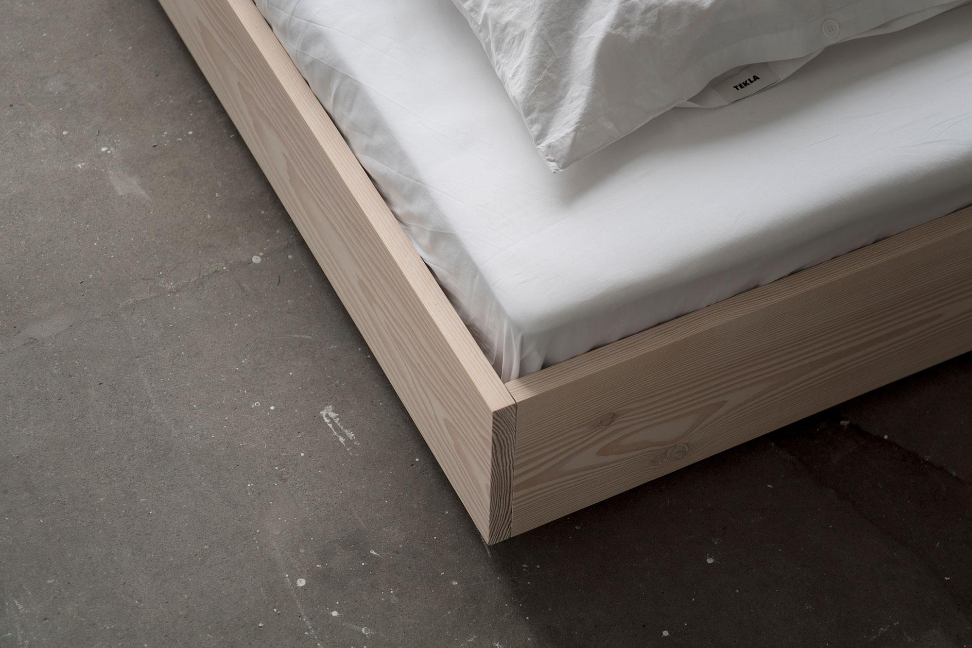 the floating bed 160 cm bred ben 7 cm 2