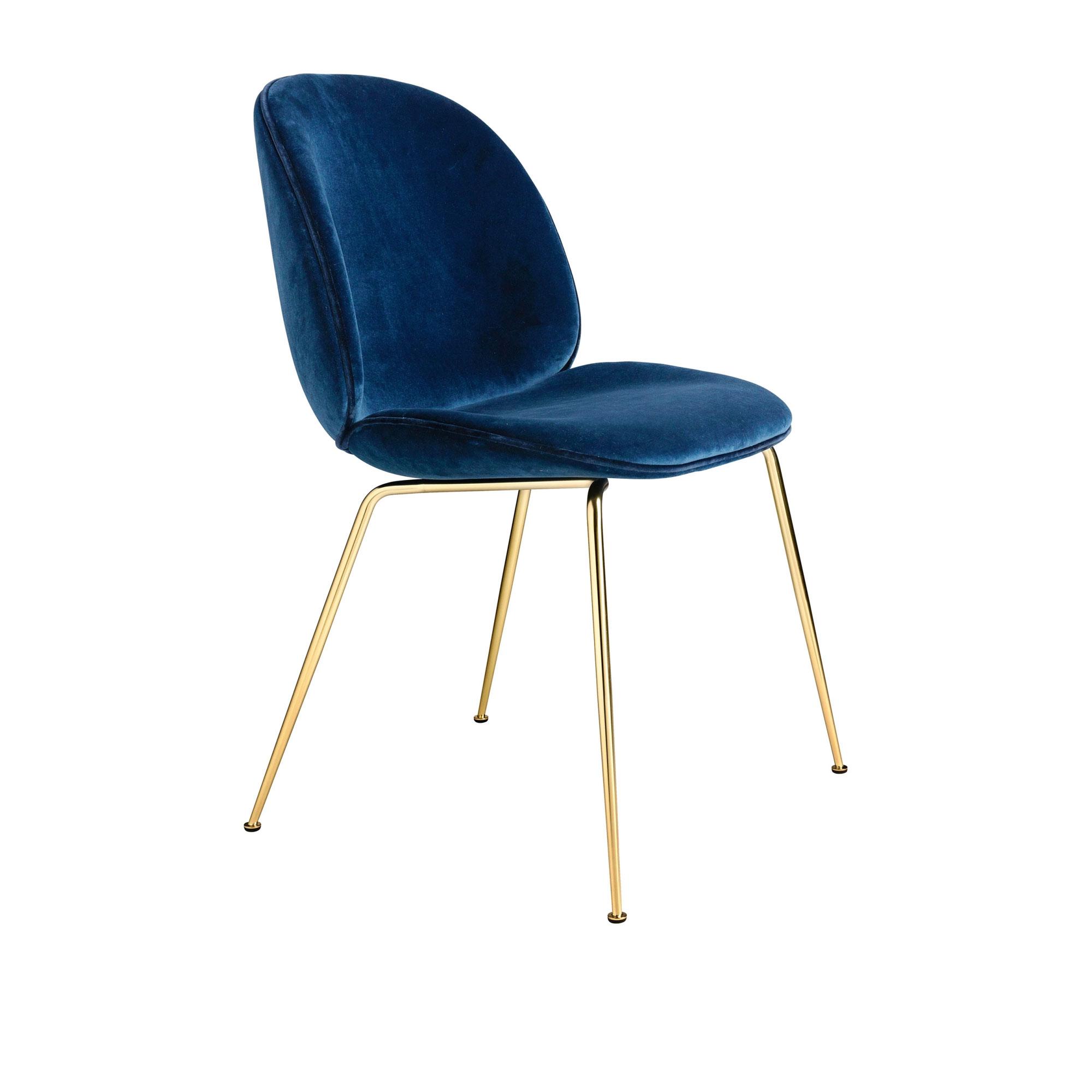 Utestående Köp Beetle Dining Chair - Helklädd från Gubi | Nordiska Galleriet HC-73