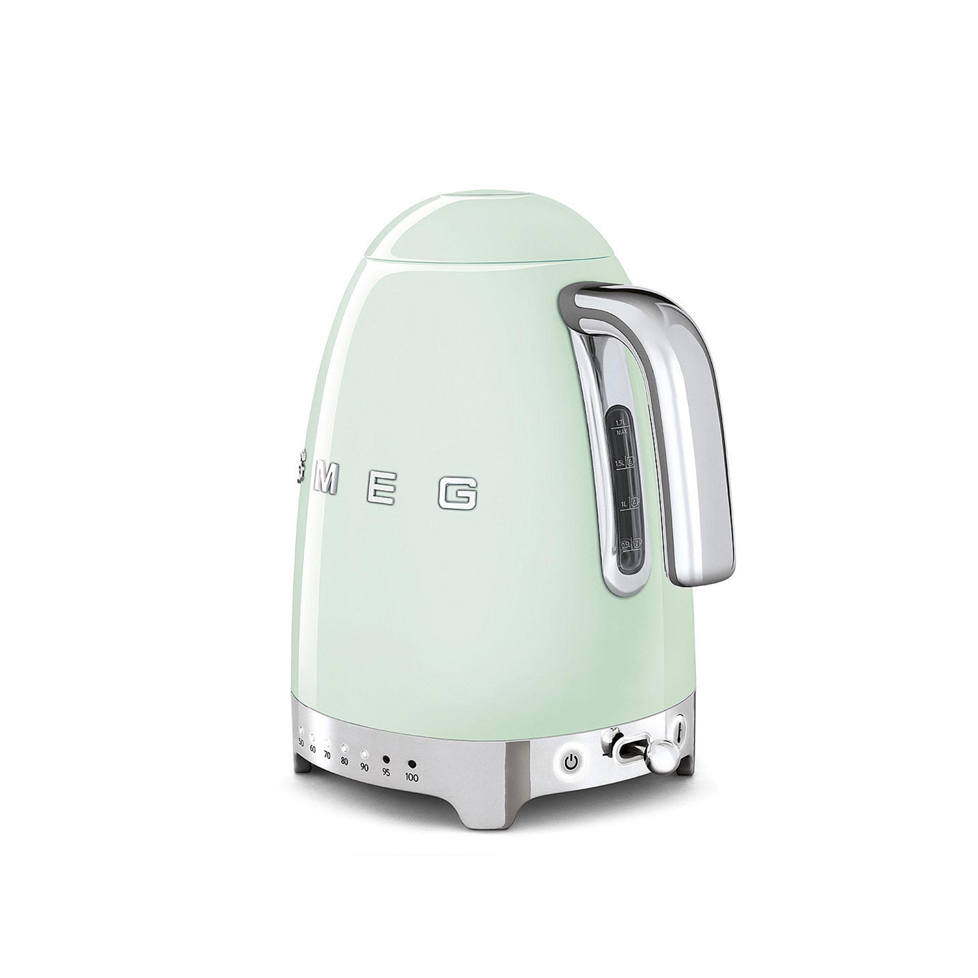 Omtyckta Köp Smeg Vattenkokare 1,7 L Reglerbar Temperatur Pastellgrön från KU-79