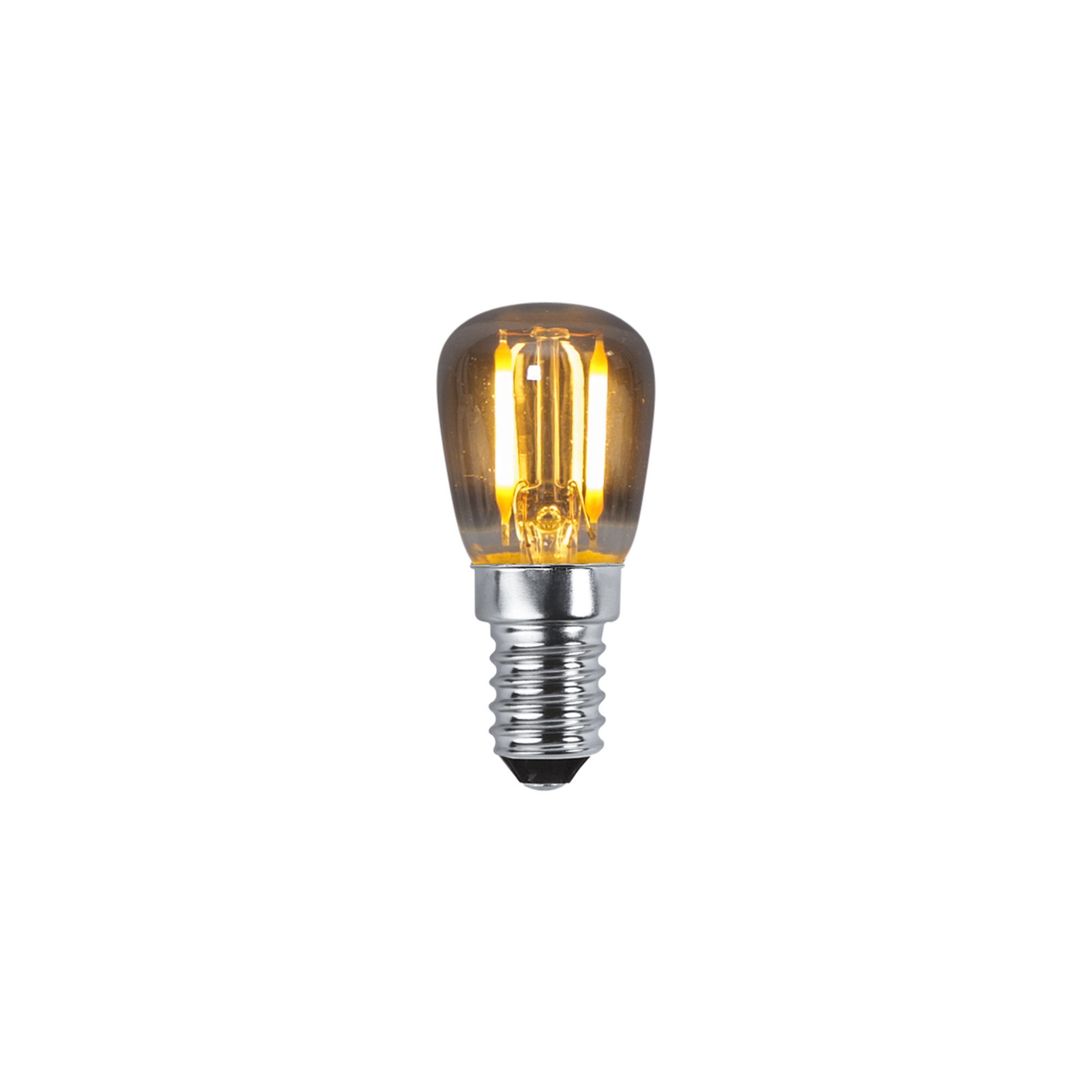 Köp LED lampa E14 ST26 Decoled Amber från Star