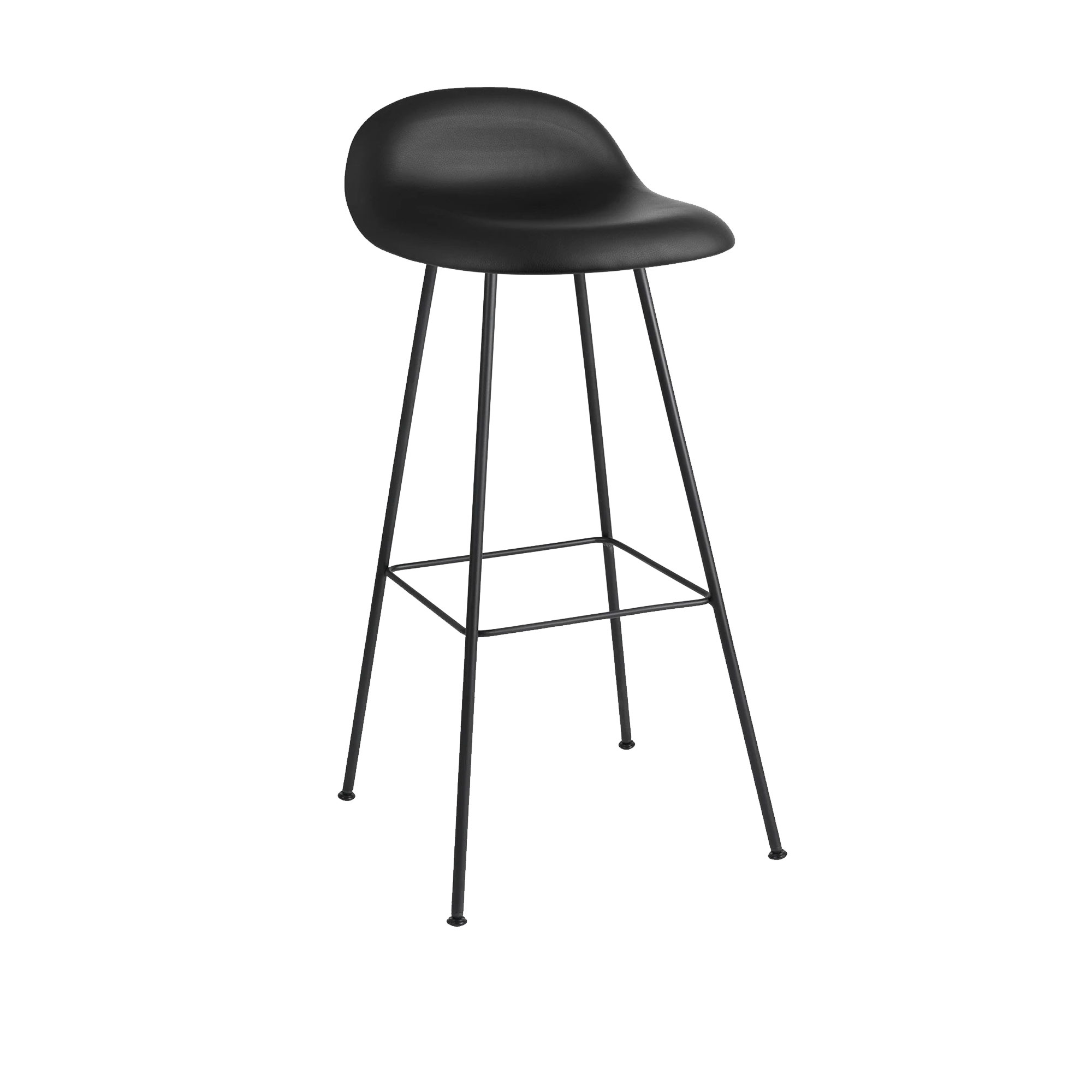 3D Counter Stool Center Base - Helklädd
