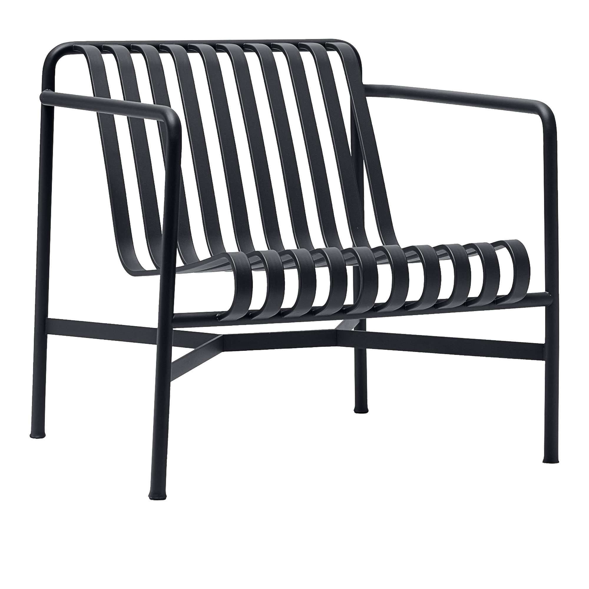 Köp Palissade Lounge Chair Low Anthracite från HAY
