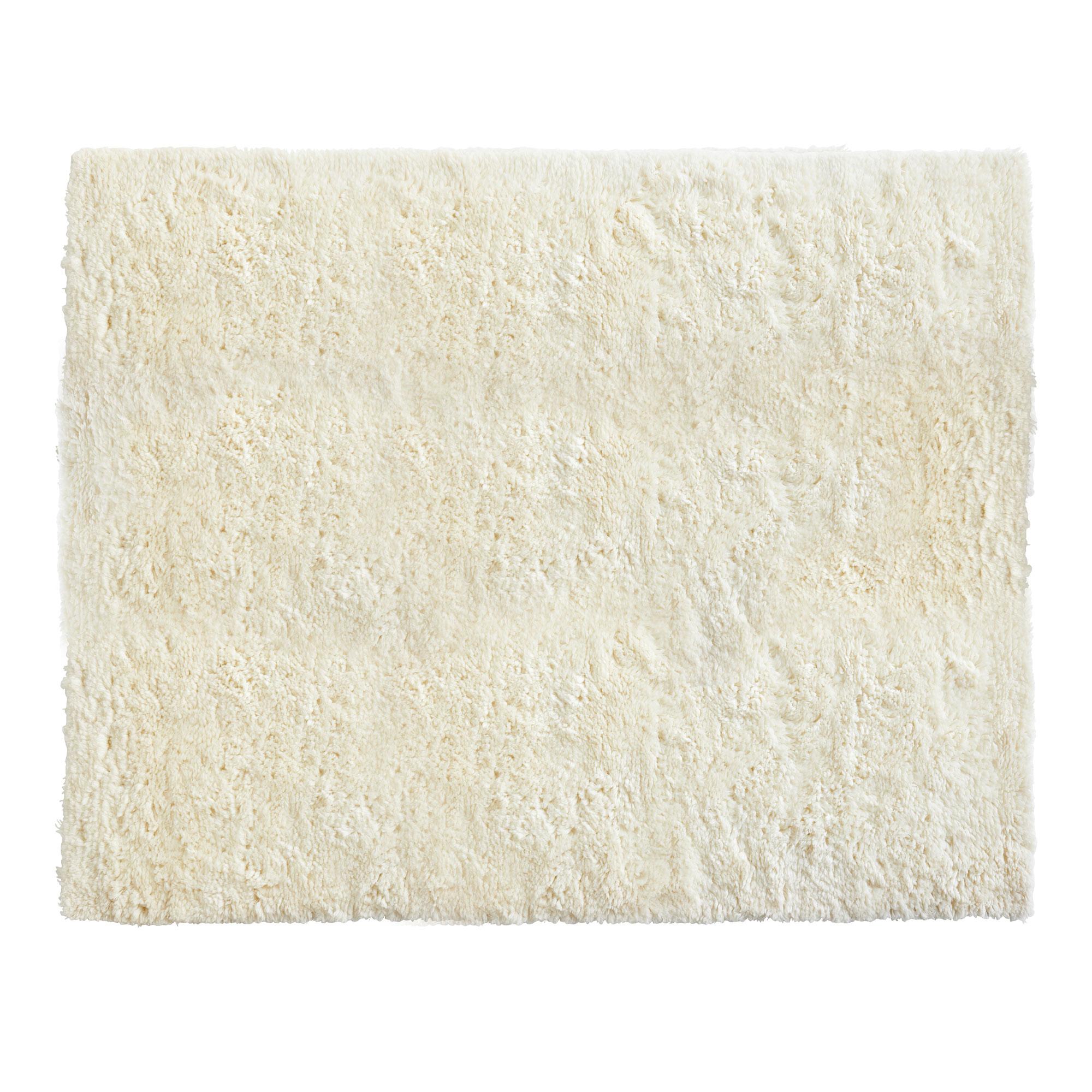 Kasthall Goose Eye Icon köp shaggy rug - cream från hay | nordiska galleriet