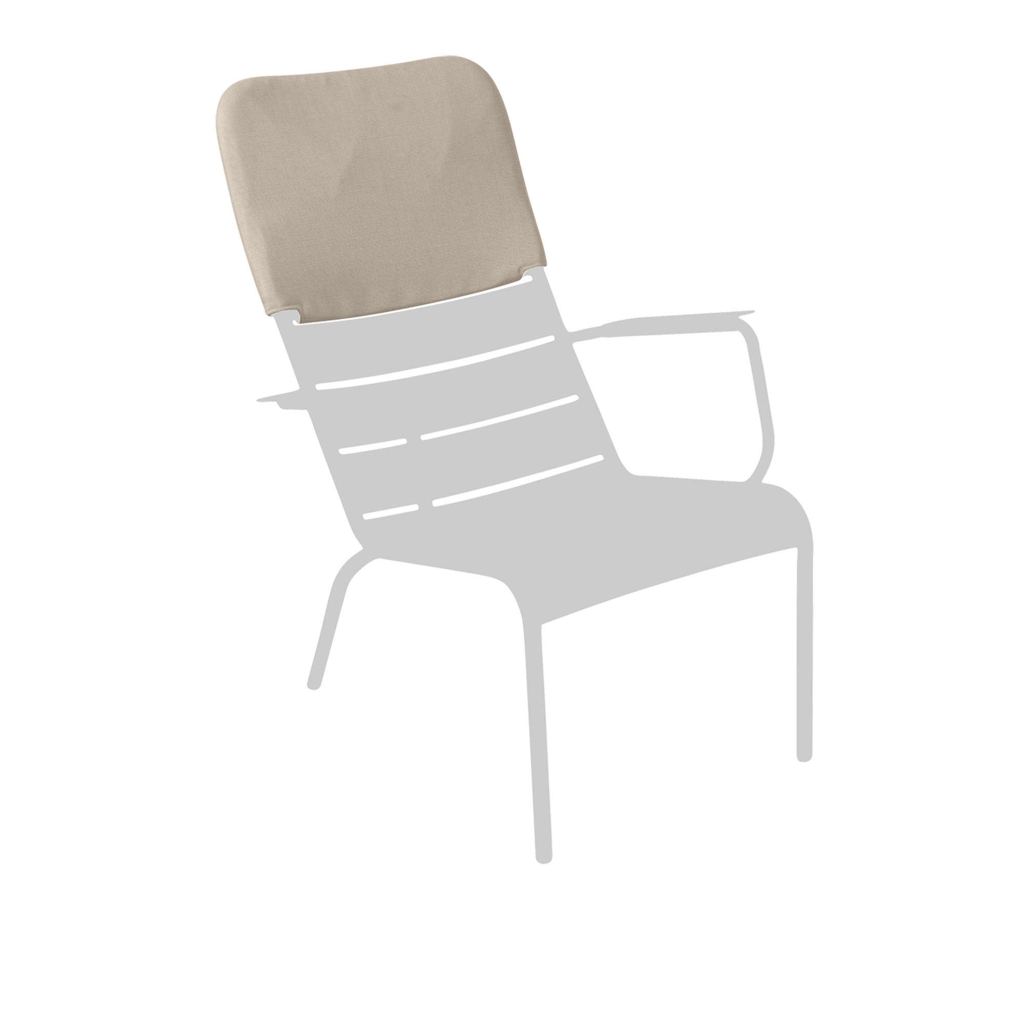 Luxembourg Low Armchair Headrest
