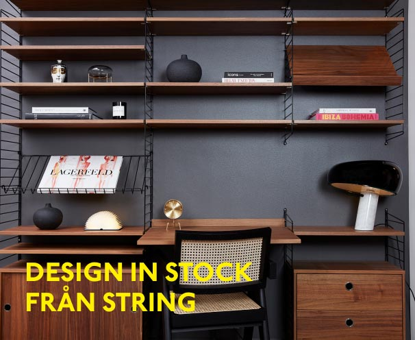 design in stock string kampanj